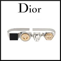 Christian Dior Unisex Blended Fabrics Other Animal Patterns Rings