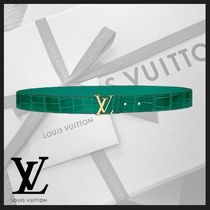 Louis Vuitton Other Animal Patterns Leather Belts