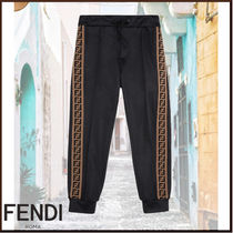FENDI Unisex Blended Fabrics Kids Girl  Bottoms