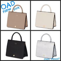 OAD NEW YORK Casual Style 2WAY Plain Leather Totes