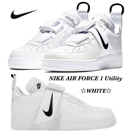   Nike Unisex Air Force 1 Utility Sneakers   Shoes