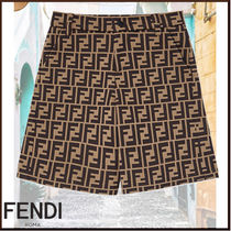 FENDI Unisex Kids Girl  Bottoms