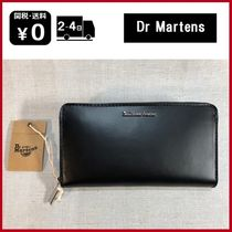 Dr Martens Unisex Plain Leather Long Wallet  Long Wallets