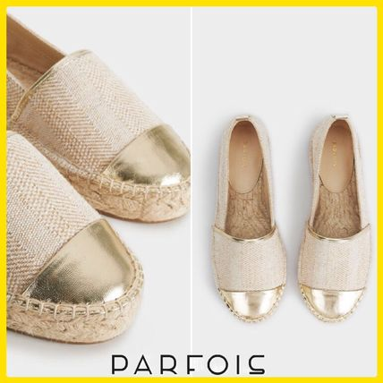 Rubber Sole Casual Style Flats