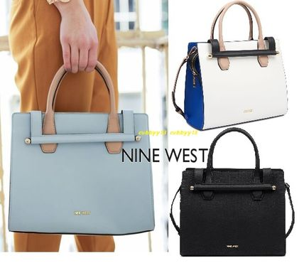 A4 Plain Office Style Handbags