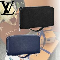 Louis Vuitton TAIGA Leather Long Wallets