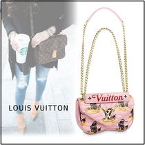 Louis Vuitton NEW WAVE CHAIN BAG light pink one size handbag