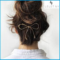 Barettes Casual Style Handmade 14K Gold Clips