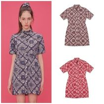 SCULPTOR Paisley Cotton Dresses