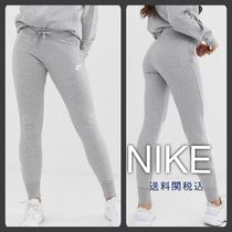 Nike Street Style Plain Cotton Skinny Pants