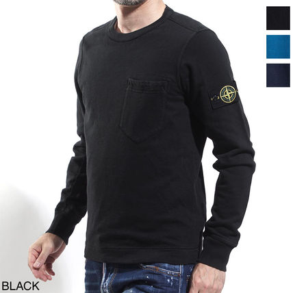 STONE ISLAND Sweatshirts Cotton Sweatshirts