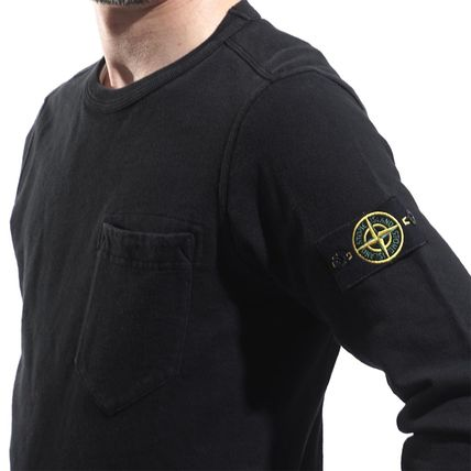 STONE ISLAND Sweatshirts Cotton Sweatshirts 4