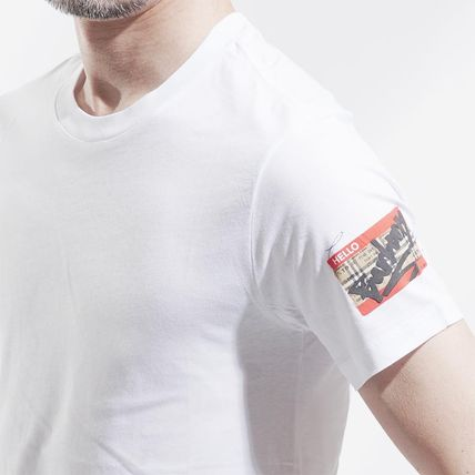 Burberry More T-Shirts Cotton Short Sleeves T-Shirts 4