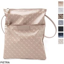 GHERARDINI Casual Style A4 Shoulder Bags