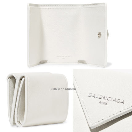 BALENCIAGA Folding Wallets Leather Folding Wallets 2