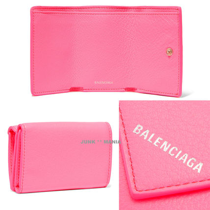 BALENCIAGA Folding Wallets Leather Folding Wallets 3