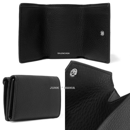 BALENCIAGA Folding Wallets Leather Folding Wallets 4