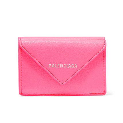 BALENCIAGA Folding Wallets Leather Folding Wallets 5