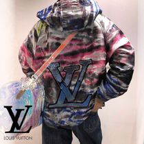 Louis Vuitton Pullovers Street Style Long Sleeves Cotton Hoodies