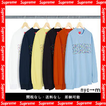 Supreme Pullovers Long Sleeves T-Shirts