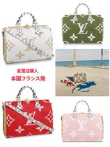 Louis Vuitton SPEEDY Monogram 2WAY Leather Handbags
