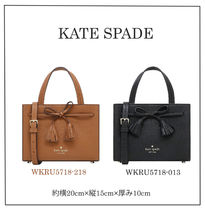kate spade new york 2WAY Plain Leather Office Style Shoulder Bags