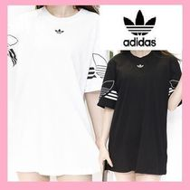 adidas Unisex Street Style Plain Cotton Short Sleeves