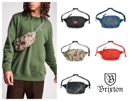 Camouflage Plain Crossbody Bag Logo Bags