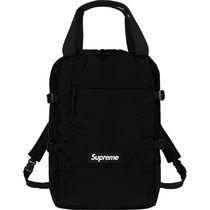 Supreme Unisex Street Style A4 2WAY Plain Backpacks