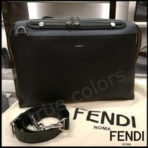 FENDI SELLERIA 3WAY Plain Leather Business & Briefcases