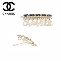 CHANEL Barettes Party Style Clips