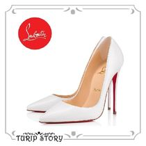 Christian Louboutin So Kate Other Animal Patterns Leather Pin Heels Elegant Style