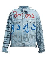 VETEMENTS Short Casual Style Unisex Denim Street Style Jackets