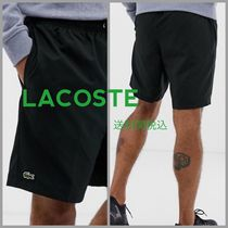 LACOSTE Street Style Plain Joggers Shorts