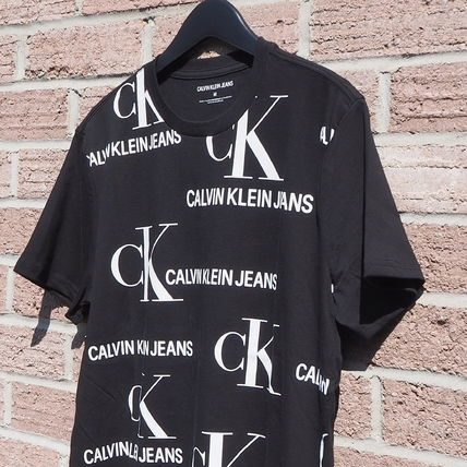 Calvin Klein More T-Shirts Unisex Street Style Short Sleeves T-Shirts 3