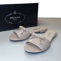 PRADA Casual Style Plain Sandals
