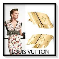 Louis Vuitton Flower Elegant Style Earrings & Piercings