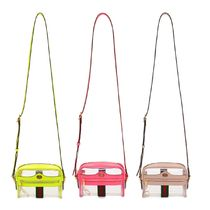 GUCCI Ophidia Crystal Clear Bags PVC Clothing Shoulder Bags