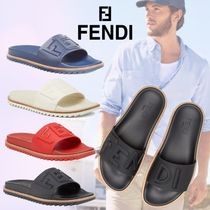 FENDI Plain Shower Shoes Shower Sandals