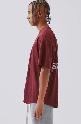 FEAR OF GOD V-Neck Street Style V-Neck Plain Short Sleeves V-Neck T-Shirts 12
