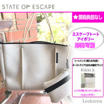 State of Escape Unisex Street Style Bag in Bag A4 Plain Handmade