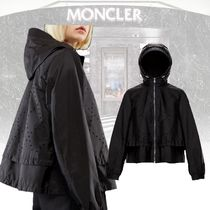 MONCLER Short Casual Style Street Style Collaboration Plain