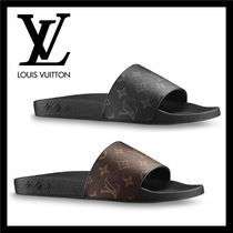 Louis Vuitton MONOGRAM Monogram Unisex Bi-color Shower Shoes Sports Sandals