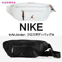 Nike AIR JORDAN Unisex Street Style Plain Hip Packs