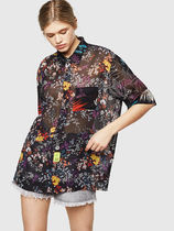 DIESEL Flower Patterns Casual Style Street Style Shirts & Blouses