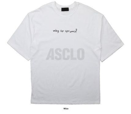 ASCLO More T-Shirts Cotton Short Sleeves Oversized T-Shirts 14