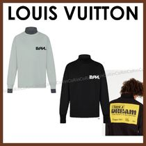 Louis Vuitton Crew Neck Street Style Long Sleeves Long Sleeve T-shirt