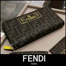 FENDI Monogram Long Wallets