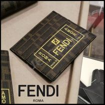 FENDI Monogram Card Holders