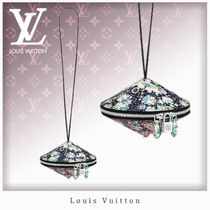 Louis Vuitton Flower Patterns 2WAY Leather Party Bags
